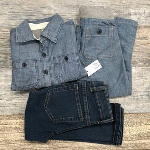 3 piece jeans outfit